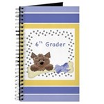 Back-to-School Notebooks for Sixth Grade Students