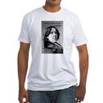 Playwright Oscar Wilde Fitted T-Shirt